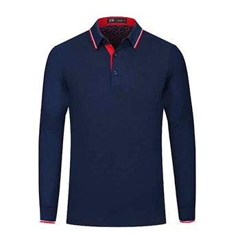 加厚长袖POLO衫  衬衫领衬衫袖口  现货vwin德赢跑分平台下载