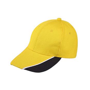 全棉拼色棒球帽  现货四色