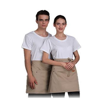 半身围裙  铆钉装饰  时尚潮流