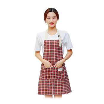 时尚格子围裙  vwin德赢跑分平台下载现货