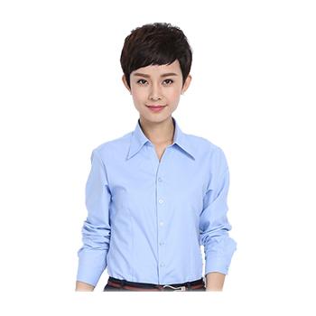 女士V领短袖衬衫  各色各面料  现货可绣标