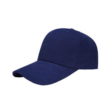 CPA5纯棉六片铜扣棒球帽子  vwin德赢跑分平台下载现货  可印可绣
