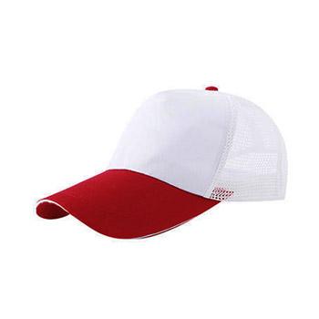 CPC03斜纹棉魔术贴5片网帽子  vwin德赢跑分平台下载现货
